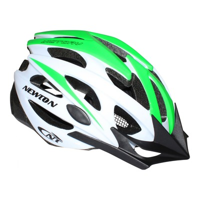 Casque vélo VTT Newton Victory vert/blanc