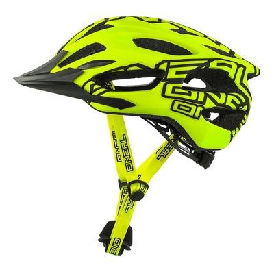 Casque vélo VTT O'Neal Q RL jaune fluo