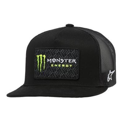 Casquette Alpinestars Champ Trucker Monster noir/noir