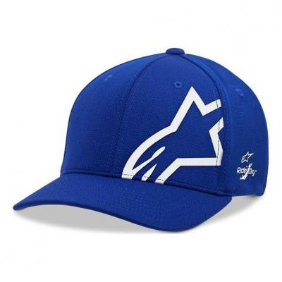Casquette Alpinestars Corp Shift Sonic Tech royal blue/blanc