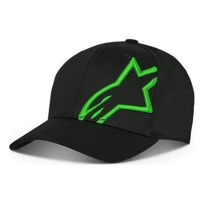 Casquette Alpinestars Corp Snap 2 noir/vert
