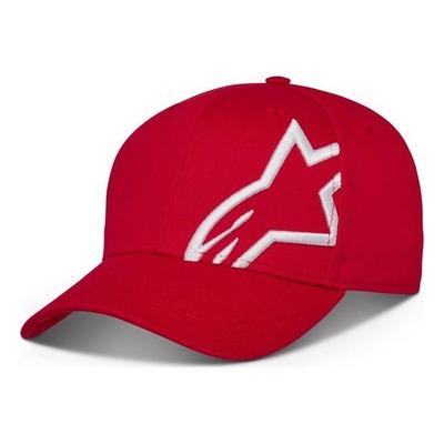 Casquette Alpinestars Corp Snap 2 rouge/blanc