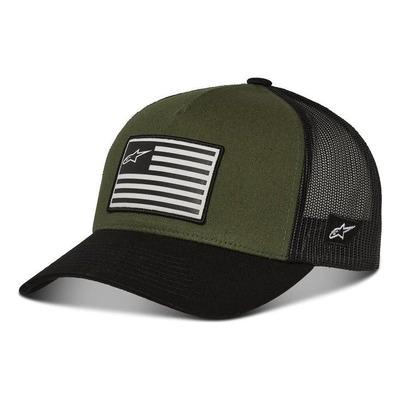 Casquette Alpinestars Flag Snapback military/noir