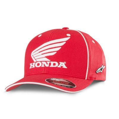 Casquette Alpinestars Honda rouge
