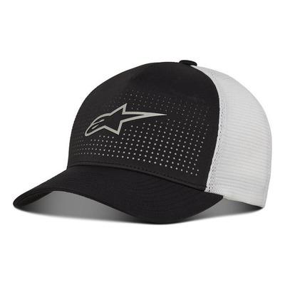Casquette Alpinestars Perf noir/blanc