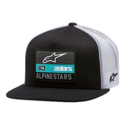 Casquette Alpinestars Sponsored hat noir/blanc