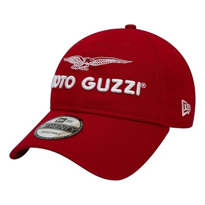 Casquette baseball Moto Guzzi New Era 9Forty 2020 Logo 940 rouge