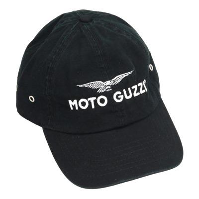 Casquette baseball Moto Guzzi noir