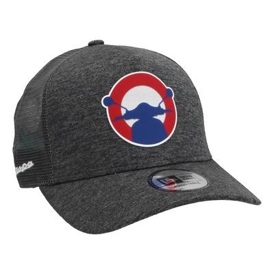 Casquette baseball Vespa New Era 2020 Logo Trucker gris