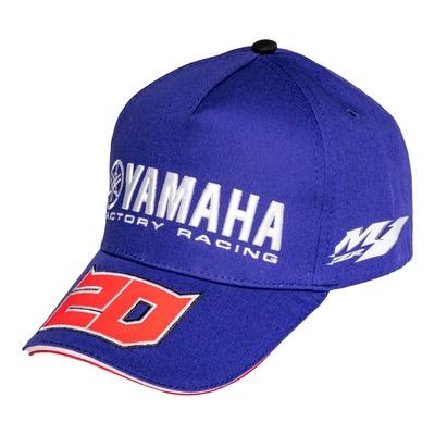 Casquette Baseball Yamaha Fabio Quartararo 20 bleu/rouge