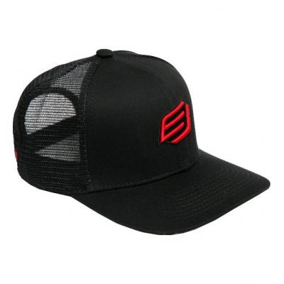 Casquette Bud Racing Small Icon noir/rouge
