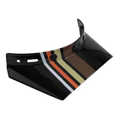 Casquette de casque Bell Moto-3 Stripes noir/orange