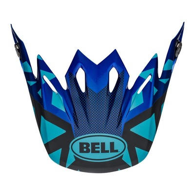 Casquette de casque cross Bell Moto-9 Tremor bleu/noir