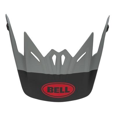 Casquette de casque cross enfant Bell Moto-9 Glory noir/gris/crimson mat