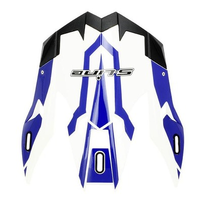 Casquette de casque Cross S-Line S820 blanc/bleu