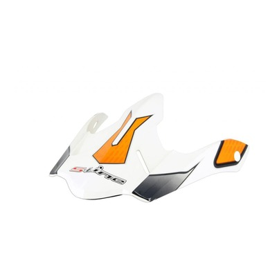Casquette de casque Cross S-Line S820 blanc/orange