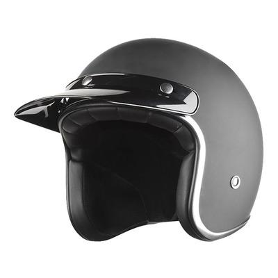 Casquette de casque Nox MX noir brillant