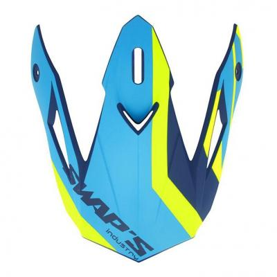 Casquette de casque Swaps S818 bleu/jaune