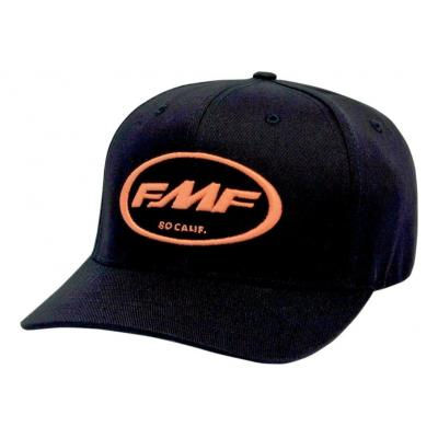 Casquette FMF Factory Classic Don noire logo orange