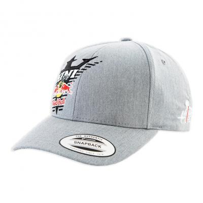 Casquette Kini Red Bull Kids Glitch gris