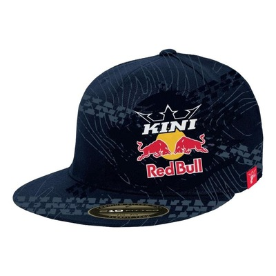 Casquette Kini Red Bull Topography bleu nuit
