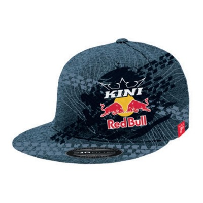 Casquette Kini Red Bull Topography bleu