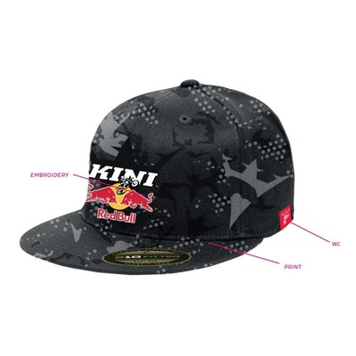 Casquette Kini Red Bull Urban noir camouflage