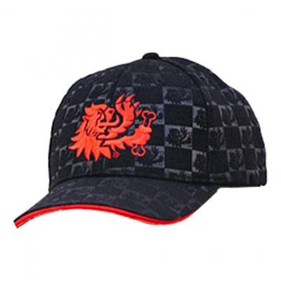 Casquette Malossi noire logo rouge