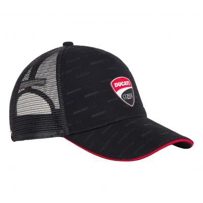 Casquette trucker Ducati Corse noir/rouge