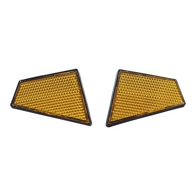Catadioptres de tête de fourche à coller pour Peugeot 103 SPX / RCX / MVL