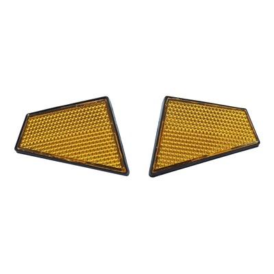 Catadioptres de tête de fourche à visser pour Peugeot 103 SPX / RCX / MVL