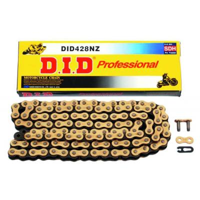Chaîne DID NZ SDH standard pas 428 124 maillons or/noir