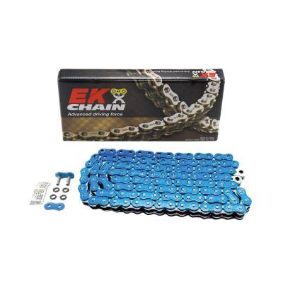 Chaîne EK 525 QX-Ring 120 maillons bleu