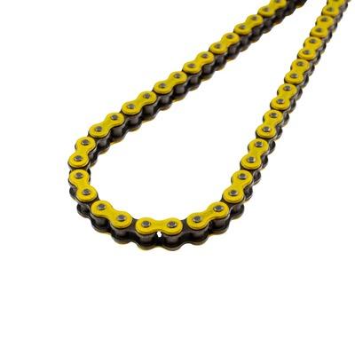 Chaîne renforcée KMC 415 120 maillons jaune