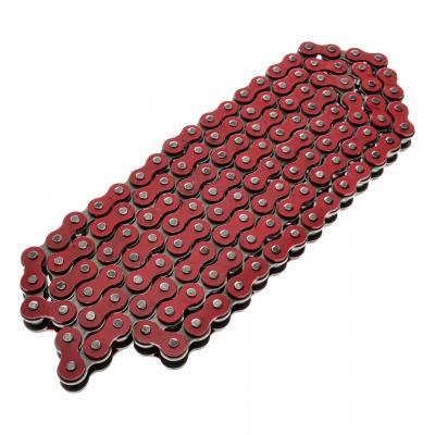 Chaîne renforcée rouge Sarkany pas 420 en 134 maillons