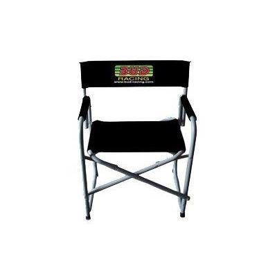 Chaise pliable Bud Racing noir