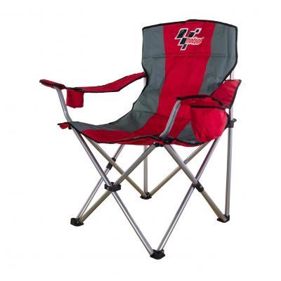 Chaise pliante MotoGP rouge / grise