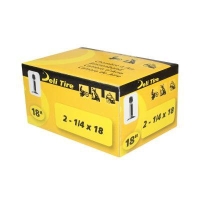 Chambre à air 18'' Deli standard droite pour pneu 2 1/4x18