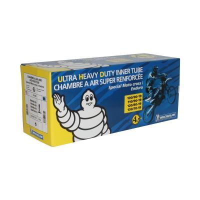Chambre à air Michelin offroad UHD 100/90-19 valve droite
