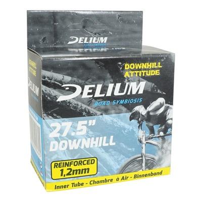 Chambre à air vélo Deli renforcé pour descente 27.5 x 2.20 - 2.50 Valve Presta