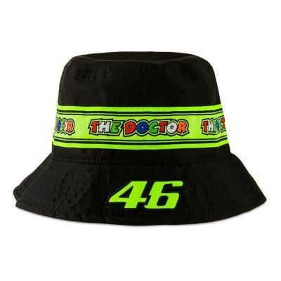 Chapeau Bob enfant Vr46 noir