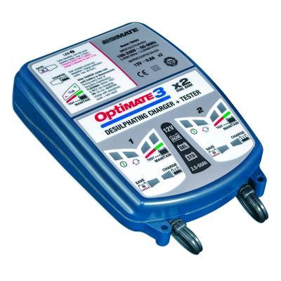 Chargeur de batterie Optimate 3 X2