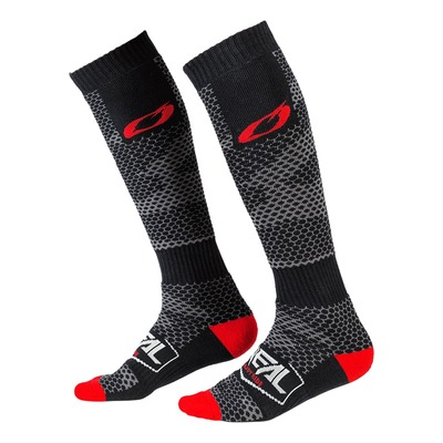 Chaussettes cross O'Neal Pro MX Covert charcoal/gris