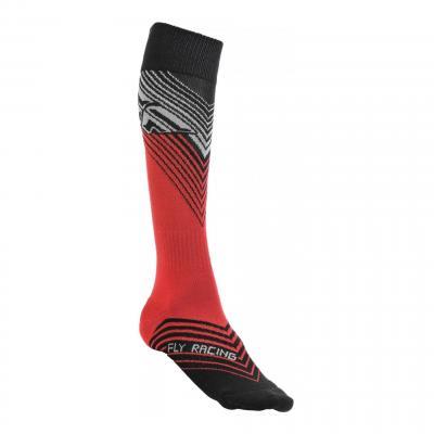 Chaussettes enfant Fly Racing MX Thin rouge/noir