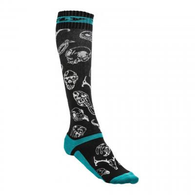 Chaussettes Fly Racing MX Pro Thick noir/vert