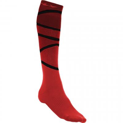 Chaussettes Fly Racing MX Pro Thick rouge/noir