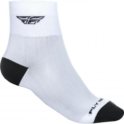 Chaussettes Fly Racing Shorty blanches