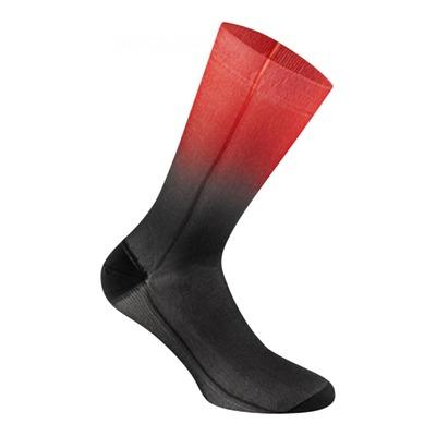 Chaussettes Gist Dégradées haute noires et rouges