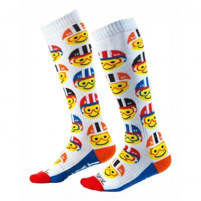 Chaussettes O'Neal Pro Emoji Racer multicolore