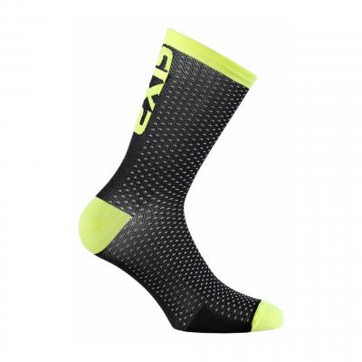 Chaussettes Sixs Luxury 200 jaune fluo
